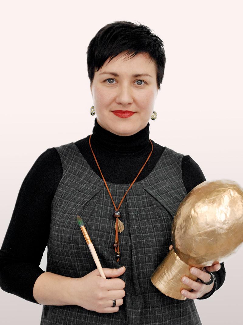 викладач Школи Креатив Євгенія Філімонова