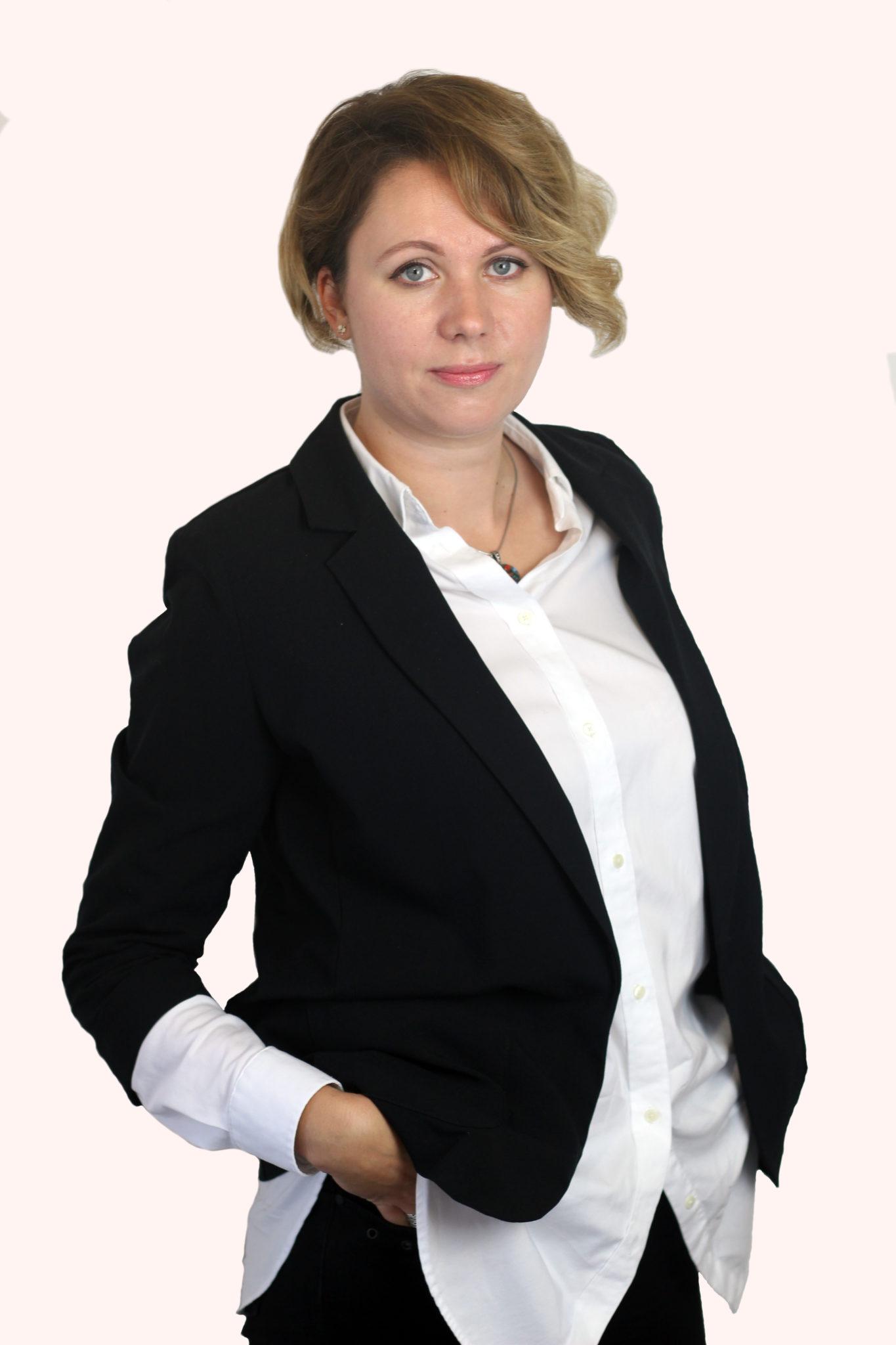 викладач Школи Креатив Катерина Калюжна